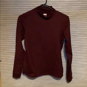 Maroon Nike Long Sleeve